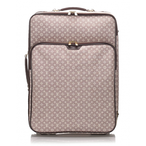 Louis Vuitton Vintage - Monogram Idylle Pegase 55 - Rosa Marrone - Trolley in Pelle - Alta Qualità Luxury