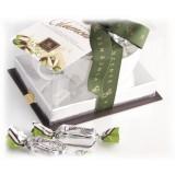Vincente Delicacies - Torroncini Pistacchio Ricoperti di Finissimo Cioccolato Bianco - Glamour - Confezione Ninféa