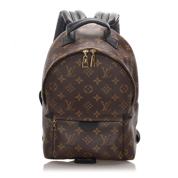 Louis Vuitton Vintage - Monogram Palm Springs PM Backpack - Marrone - Zaino in Tela e Pelle - Alta Qualità Luxury