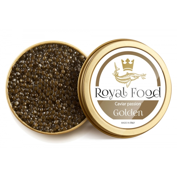 Royal Food Caviar - Golden - Siberian Caviar - Baeri Sturgeon - 50 g