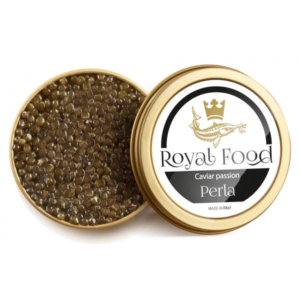 Royal Food Caviar - Perla - Caviale Beluga - Storione Huso e Naccarii - 100 g