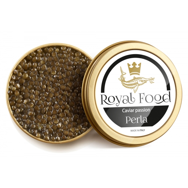 Royal Food Caviar - Pearl - Beluga Caviar - Huso and Naccarii Sturgeon - 30 g