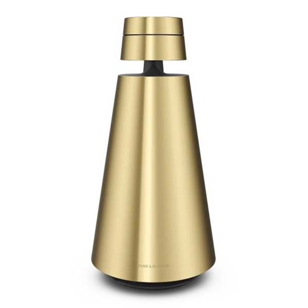 Bang & Olufsen - B&O Play - Beosound 1 with the Google Assistant - Brass Tone - High Quality Speaker