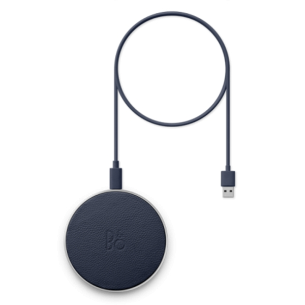 Bang & Olufsen - B&O Play - Beoplay Charging Pad - Blu Indaco - Wireless - Alta Qualità Luxury