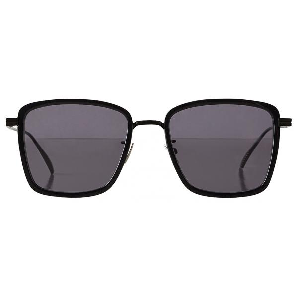 Bottega Veneta - Occhiali da Sole Rettangolare - Nero Grigio - Occhiali da Sole - Bottega Veneta Eyewear