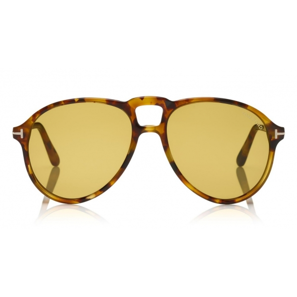 Tom Ford - Lennon Sunglasses - Pilot Acetate Sunglasses - FT0645 - Olive - Tom Ford Eyewear