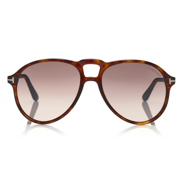 Tom Ford - Lennon Sunglasses - Pilot Acetate Sunglasses - FT0645 - Havana - Tom Ford Eyewear