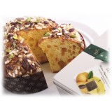 Vincente Delicacies - Panettone con Pistacchio di Sicilia, Ananas e Albicocca - Les Fruits - Artigianale Cofanetto Metallico