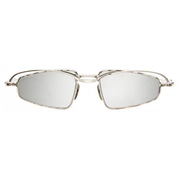 Kuboraum - Mask H73 - Silver - H73 SI - Sunglasses - Kuboraum Eyewear