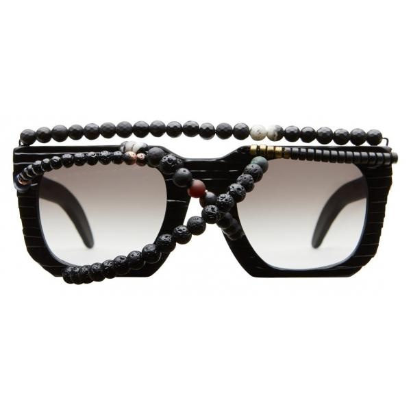 Kuboraum - Mask U3 - Afrofuturism - U3 HHGS AF - Sunglasses - Kuboraum Eyewear