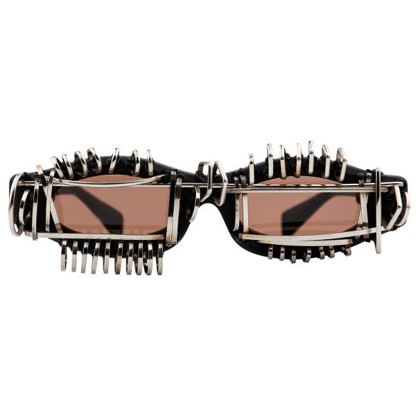 Kuboraum - Mask Y5 - Afrofuturism - Y5 BM AF - Sunglasses - Kuboraum Eyewear