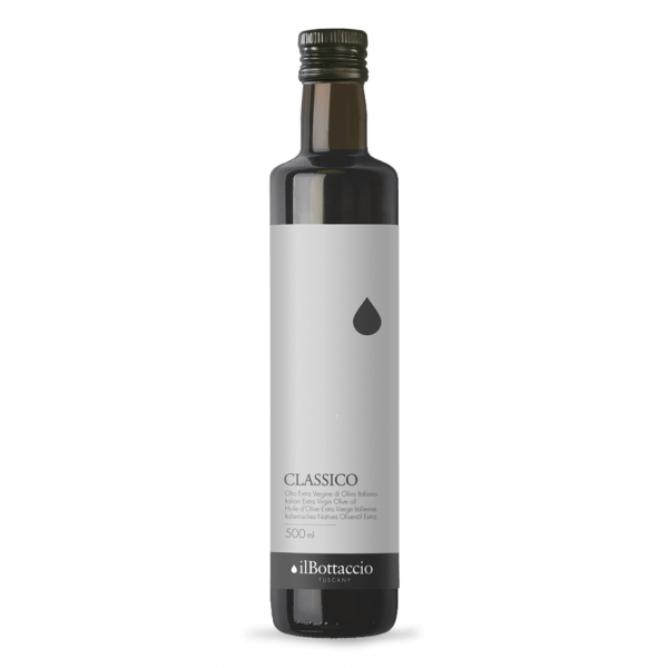 Il Bottaccio - Classic - Cultivar Blend - Tuscan Extra Virgin Olive Oil - Italian - High Quality - 500 ml