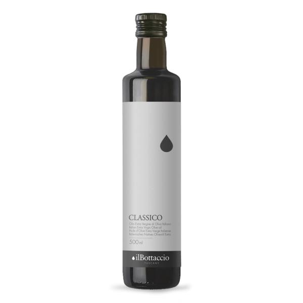 Il Bottaccio - Classico - Blend di Cultivar - Olio Extravergine di Oliva Toscano - Italiano - Alta Qualità - 500 ml