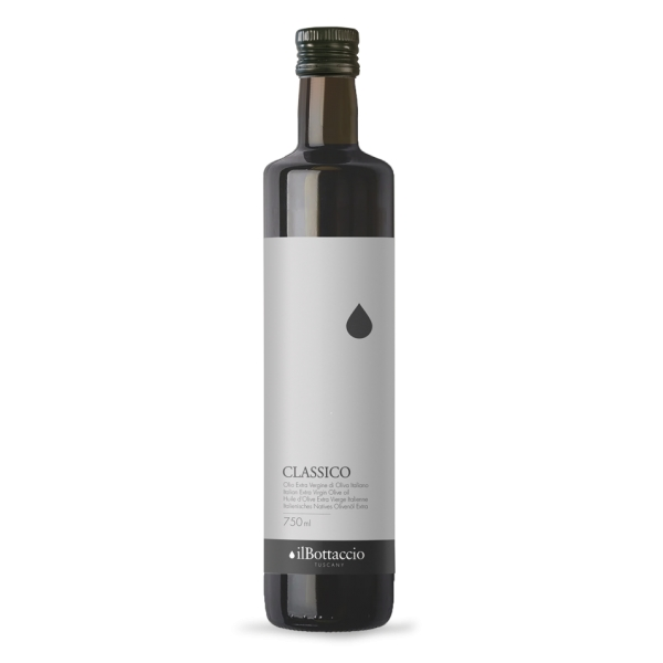 Il Bottaccio - Classic - Cultivar Blend - Tuscan Extra Virgin Olive Oil - Italian - High Quality - 750 ml