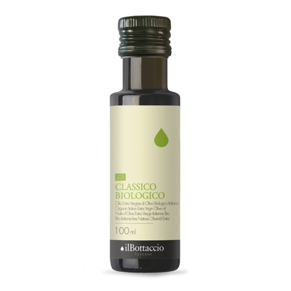 Il Bottaccio - Organic Classic - Cultivar Blend - Tuscan Extra Virgin Olive Oil - Italian - High Quality - 100 ml