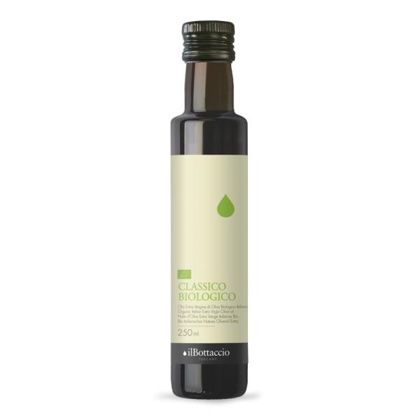 Il Bottaccio - Classico Biologico - Blend di Cultivar - Olio Extravergine di Oliva Toscano - Italiano - Alta Qualità - 250 ml