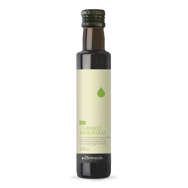 Il Bottaccio - Organic Classic - Cultivar Blend - Tuscan Extra Virgin Olive Oil - Italian - High Quality - 250 ml