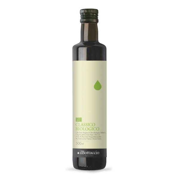 Il Bottaccio - Classico Biologico - Blend di Cultivar - Olio Extravergine di Oliva Toscano - Italiano - Alta Qualità - 500 ml