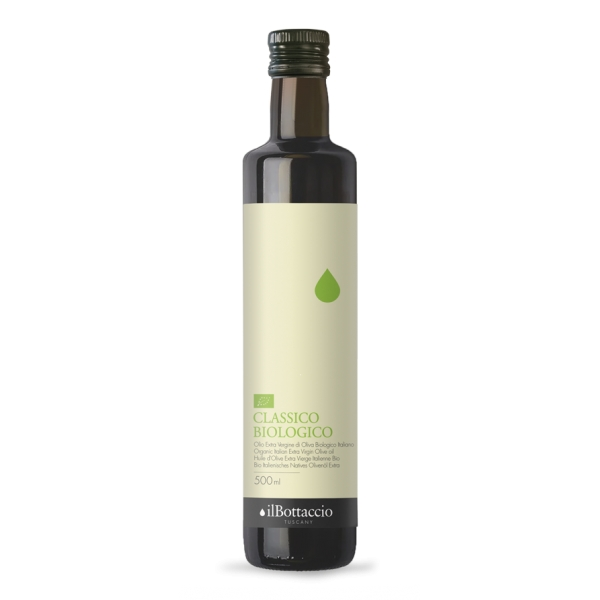 Il Bottaccio - Organic Classic - Cultivar Blend - Tuscan Extra Virgin Olive Oil - Italian - High Quality - 500 ml