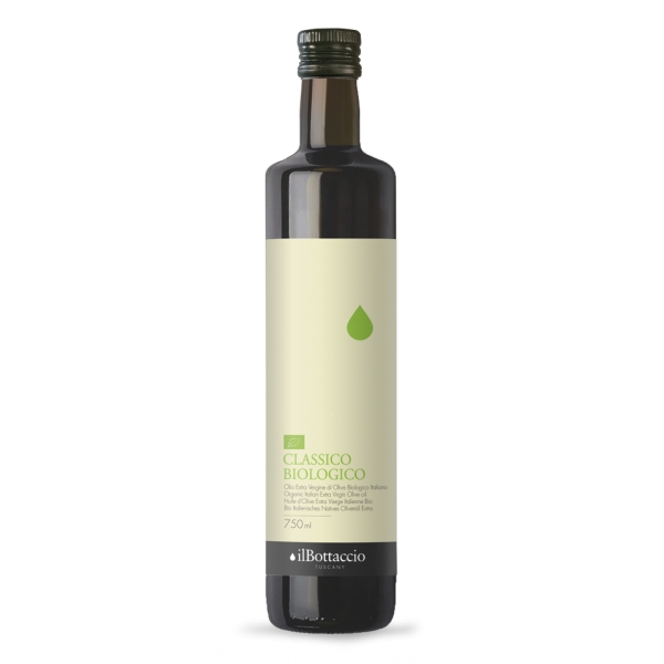 Il Bottaccio - Classico Biologico - Blend di Cultivar - Olio Extravergine di Oliva Toscano - Italiano - Alta Qualità - 750 ml