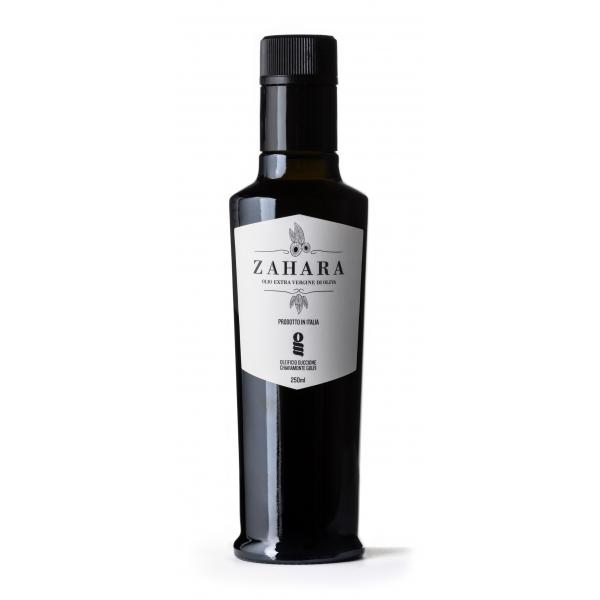 Oleificio Guccione - Zahara - Olio Extravergine di Oliva Siciliano - Italiano - Alta Qualità - 250 ml