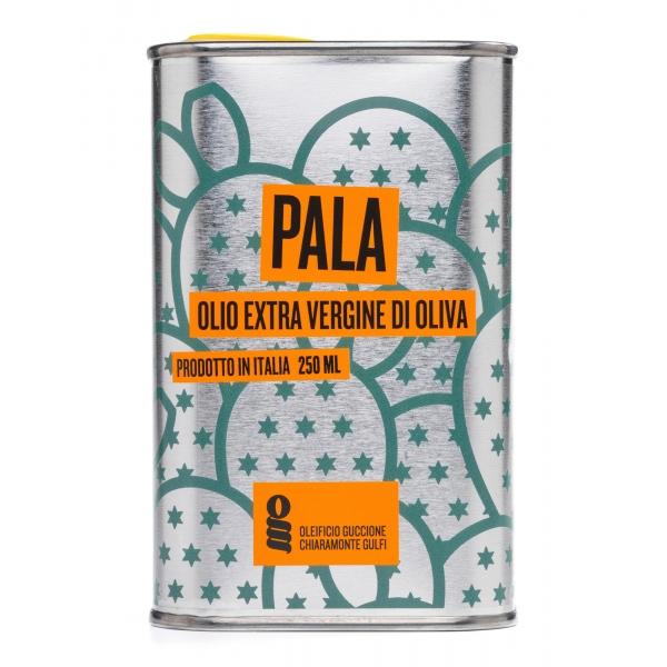 Oleificio Guccione - Pala - Olio Extravergine di Oliva Siciliano - Italiano - Alta Qualità - 250 ml