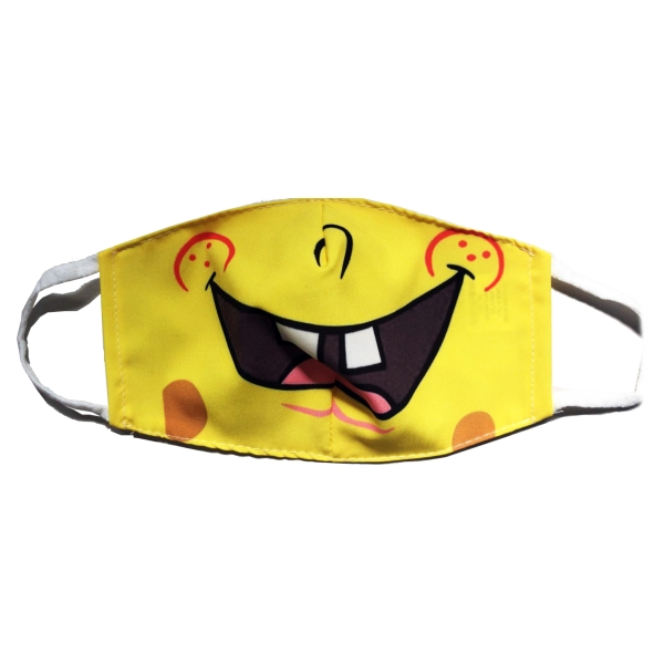 Leda Di Marti - Spongebob - 5 High Quality Protection Mask - Coronavirus - COVID19 - Made in Italy