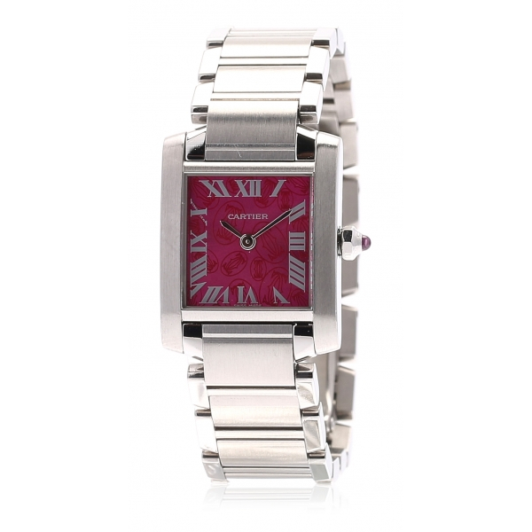 Cartier Vintage - Stainless Steel Tank Francaise Quartz Watch W51030Q3 - Cartier Watch in Stainless Steel - Luxury High Quality