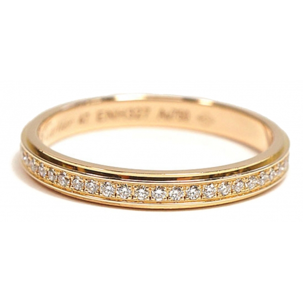 Cartier Vintage - Diamond DAmour Ring - Cartier Ring in Yellow Gold 18k - Luxury High Quality