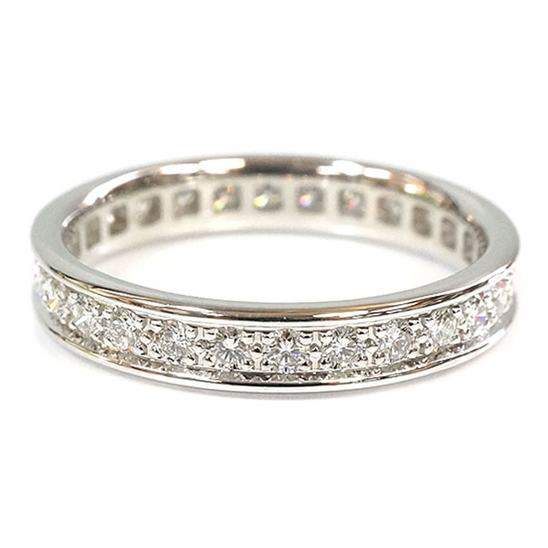 Cartier Vintage - Diamond Ballerine Ring - Cartier Ring in White Gold 18k - Luxury High Quality