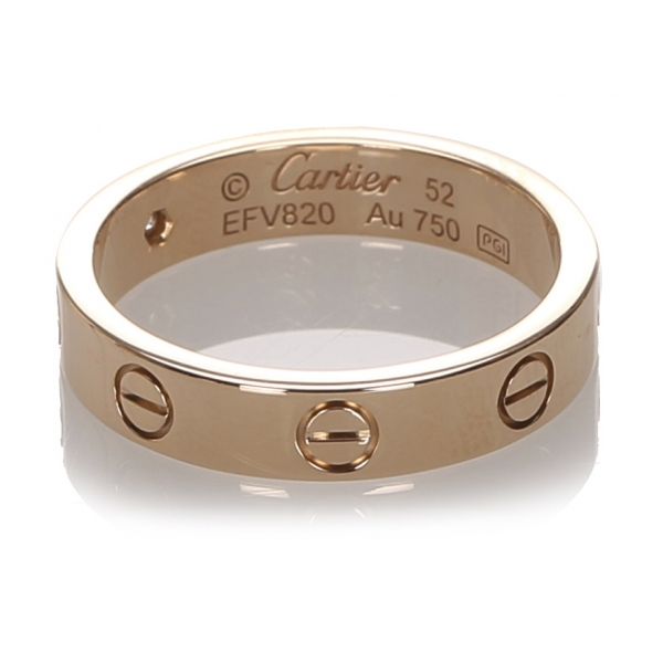 Cartier Vintage - Diamond Love Ring - Cartier Ring in Yellow Gold 18k - Luxury High Quality
