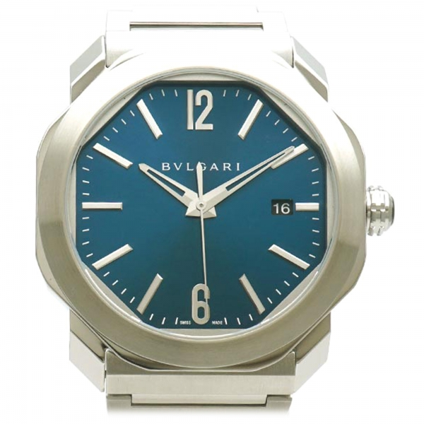 Bulgari Vintage - Octo Roma Watch - Bvlgari Watch in Stainless Steel - Luxury High Quality