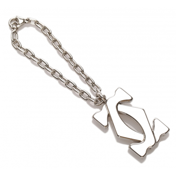Cartier Vintage - Double C Charm - Silver - Cartier Charm in Metal - Luxury High Quality