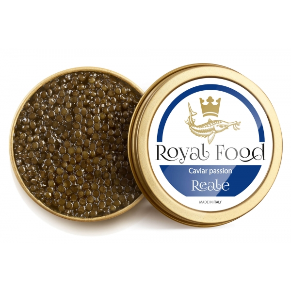 Royal Food Caviar - Reale - Caviale Oscetra - Storione Russo - 1000 g