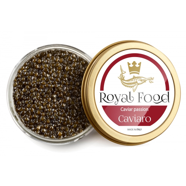 Royal Food Caviar - Caviaro - Selection of Pasteurized Caviar - Sturgeon Acipenser SPP - 2 x 50 g