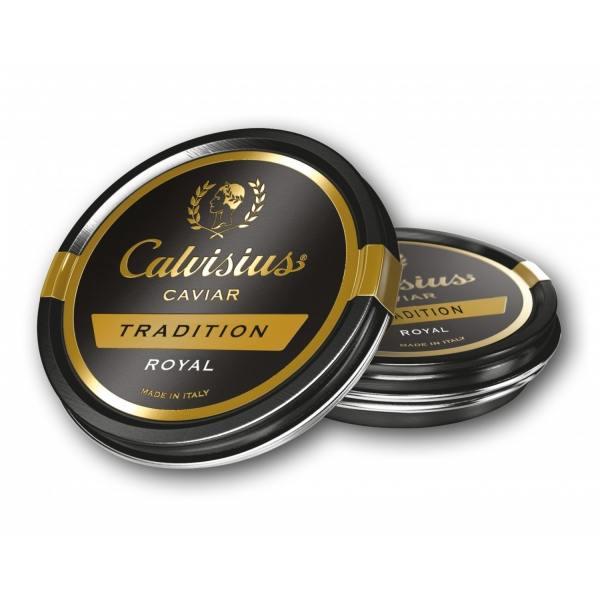 Calvisius - Calvisius Tradition Royal - Caviale - Storione Bianco - Alta Qualità Luxury - 2 x 30 g