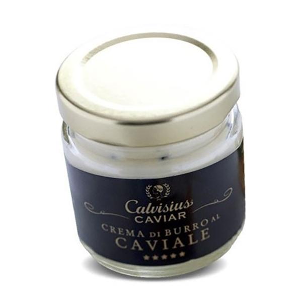 Calvisius - Crema di Burro al Caviale - Caviale - Storione - Alta Qualità Luxury - 6 x 80 g