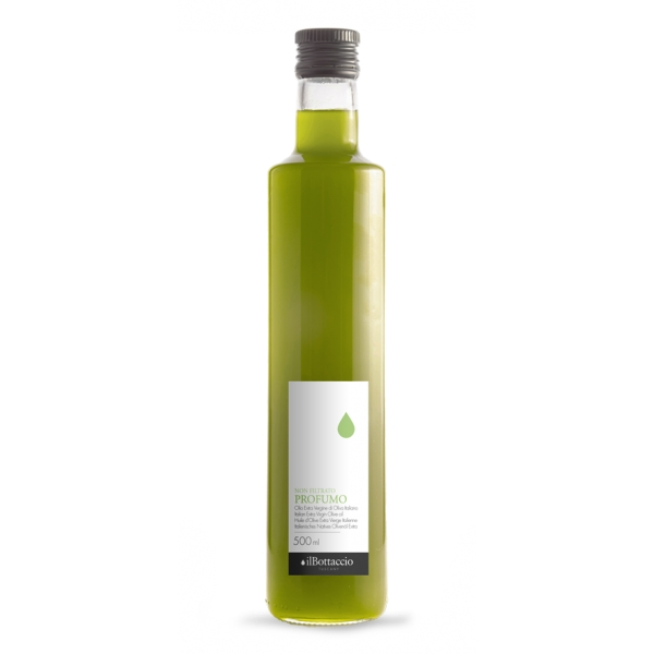 Il Bottaccio - Profumo - New Unfiltered Oil - Cultivar Blend - Tuscan Extra Virgin Olive Oil - Italian - High Quality - 500 ml