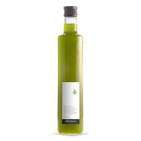 Il Bottaccio - Profumo - Olio Nuovo Non Filtrato - Blend di Cultivar - Olio di Oliva Toscano - Italiano - Alta Qualità - 500 ml