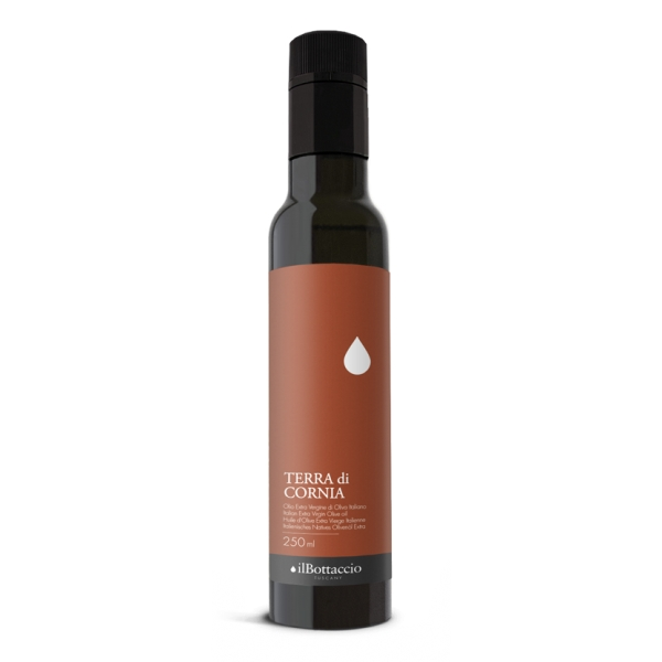 Il Bottaccio - Terra of Cornia - Selections - Tuscan Extra Virgin Olive Oil - Italian - High Quality - 250 ml