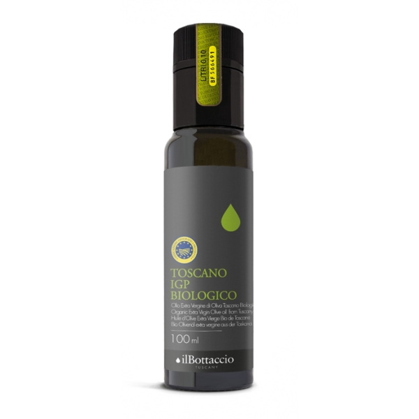 Il Bottaccio - Tuscan P.G.I. Organic - Selected Tuscan Extra Virgin Olive Oil - Italian - High Quality - 100 ml