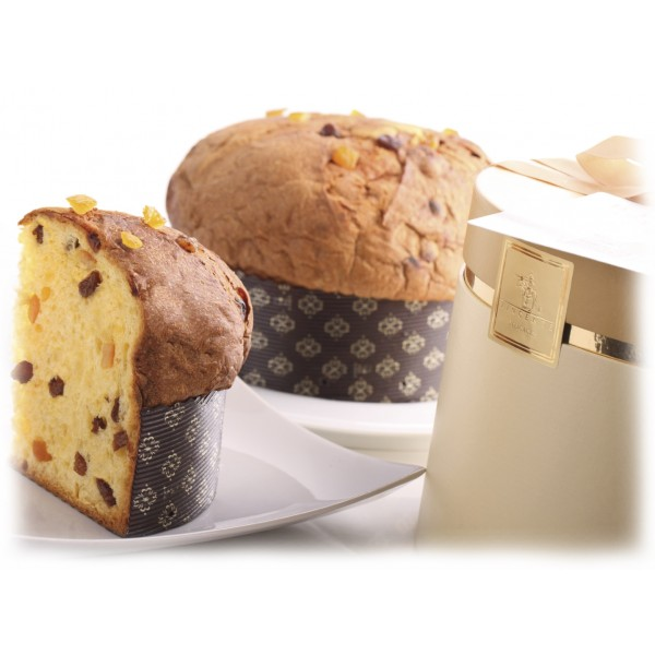 Vincente Delicacies - Classical Panettone with Raisin and Candied Orange - Classique - Artisan in Hatbox