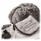 Vincente Delicacies - Panettone Ricoperto di Cioccolato Fondente e Pistacchio di Sicilia con Crema al Pistacchio - Le Chic