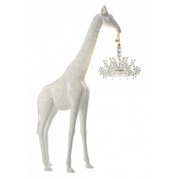 Qeeboo - Giraffe in Love Indoor - Bianco - Lampadario Qeeboo by Marcantonio - Illuminazione - Casa