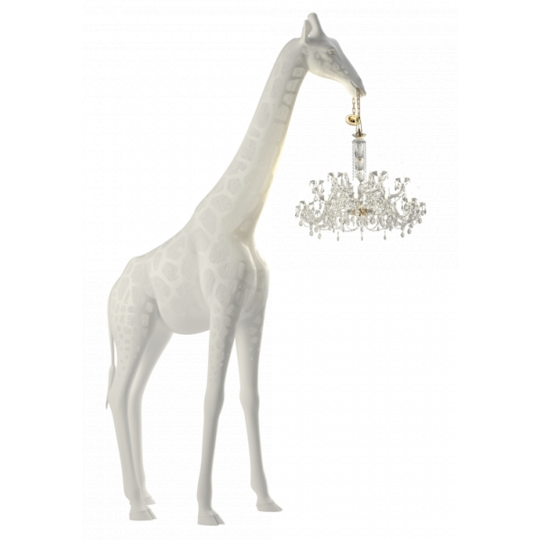 Qeeboo - Giraffe in Love Outdoor - White - Qeeboo Chandelier by Marcantonio - Lighting - Home
