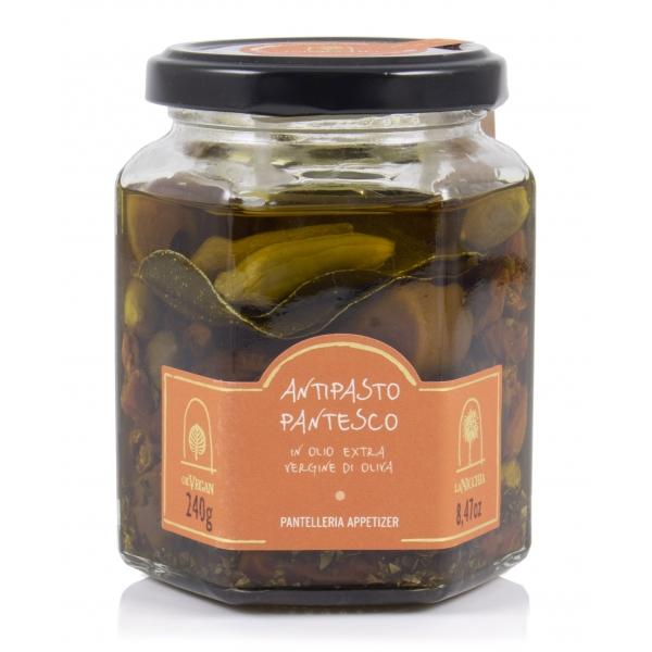 La Nicchia - Capers of Pantelleria since 1949 - Pantesco Appetizer - 240 g