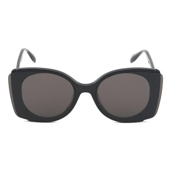 Alexander McQueen - Sunglasses with Outstanding Lenses - Black - Alexander McQueen Eyewear