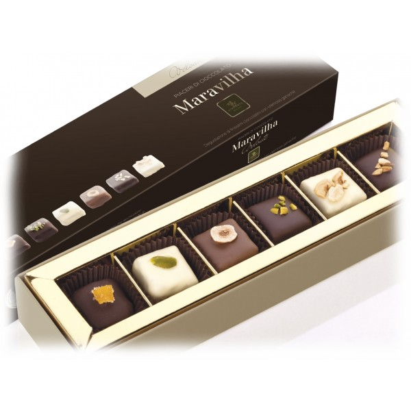 Vincente Delicacies - Ultra-Fine Chocolates Filled with Ganache Cream - Chocolates - Maravilha Meditha
