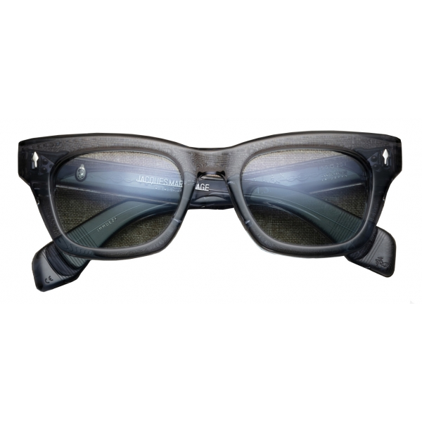 Jacques Marie Mage - Dealan - Alessandro Squarzi Charcoal - Limited Edition - Grigio Chiaro - Jacques Marie Mage Eyewear