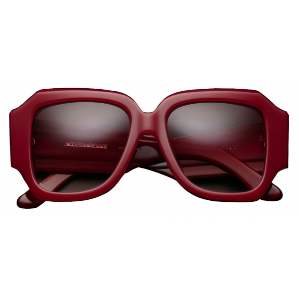 Jacques Marie Mage - Gloria Le Rouge - Rosso - Jacques Marie Mage Eyewear